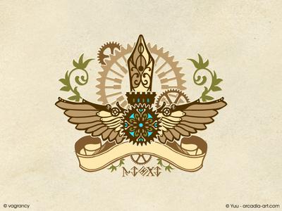 Emblem Design : caTra music emblem symbol