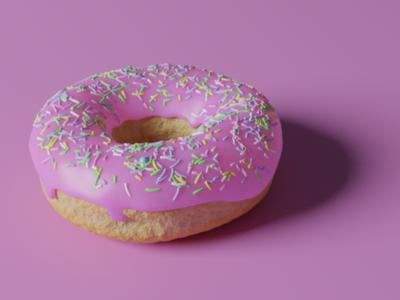 Donut in Blender 2.8