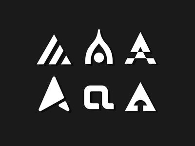 Letterform Exploration 'A'