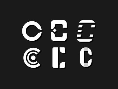 Letterform Exploration 'C'