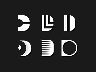 Letterform Exploration 'D'