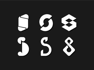 Letterform Exploration 'S'