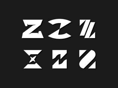 Letterform Exploration 'Z'