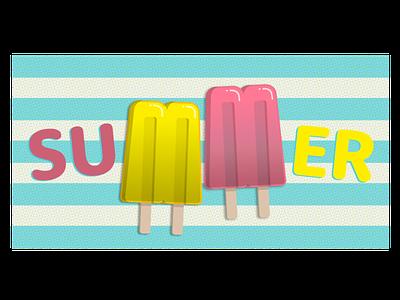 Summer rebound sticker summer