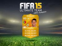 FIFA 15   CARD DESIGN CONCEPT