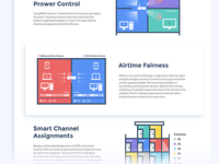 Graphics for the WiFi equipment website