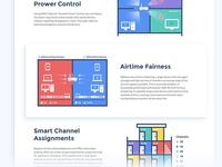 Graphics for the WiFi equipment website illustration website wifi sketch ui web deisgn graphic design