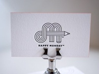 Happy Monday business cards