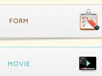 Mobile data collection ipad app UI