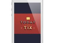 Retro iPhone app logo testing out