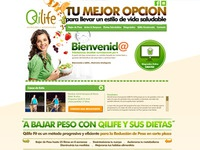 Qilife Landing Page