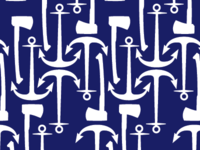 Axe and Anchor Pattern