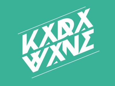 Karawane music dj branding logo logo design