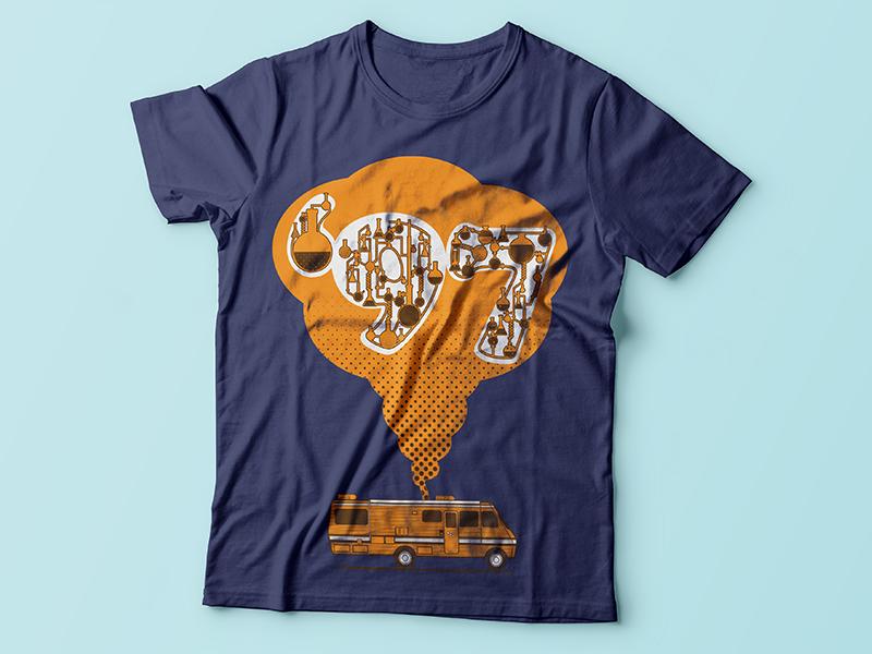 Breakjin Bad shirtdesign print tshirt breaking bad 97