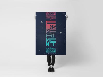 Eksperiment poster - logo