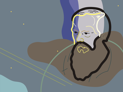 DOSTOEVSKY // Social media illustration