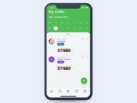 shyftplan's Mobile App Redesign