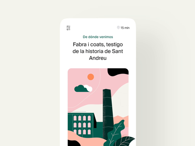 Flaneur App Animation interactiondesign user interaction user experience inspiration plastic product design product brand identity case study side project user interface branding illustration motion app interaction ux ui design animation