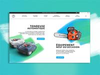 Webdesign - base de données de produits