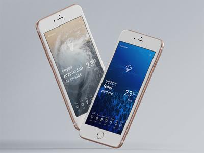 Day 037 — Weather rainy hurricane sunny user interface user experience vulgar daily ui challenge weather