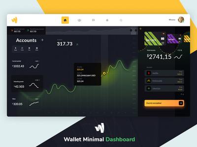 Wallet Minimal Dashboard
