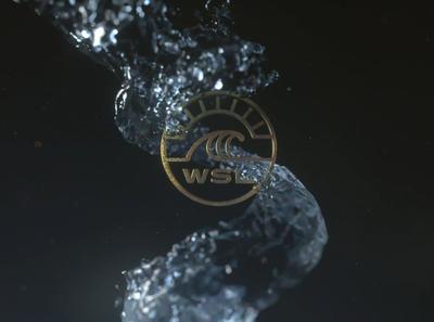 World Surf League logo animation