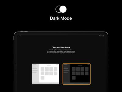 iOS 13 Concept - Darkmode