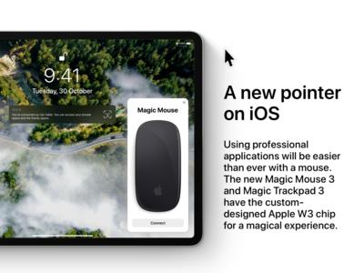 iOS 13 Concept - Mouse