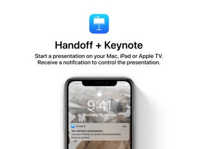 iOS 13 Concept - Smarter Handoff feature