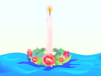 Candle long lost