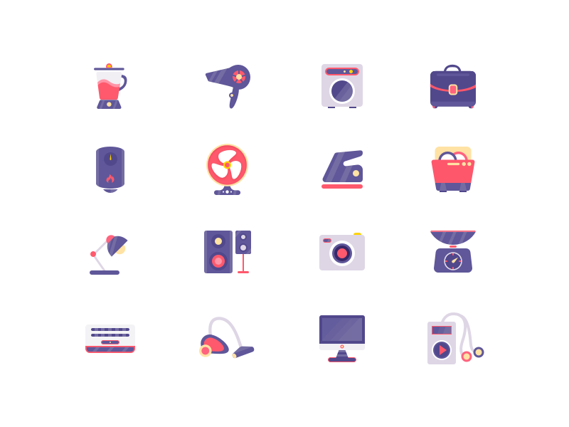 Icons appliances 2