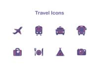 Travel s icons 2