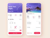 ✈️Travel app concept