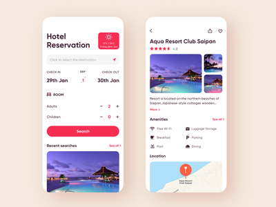✈️Travel app concept 2 ui app ios flight round trip flight booking