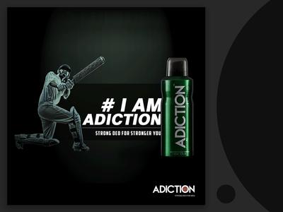 Adiction Deodorant Ad Campaign