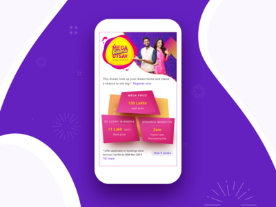Housing Diwali Event Page Mobile