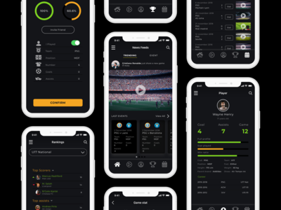 Soccers's player App