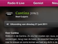 Radio 6 — One