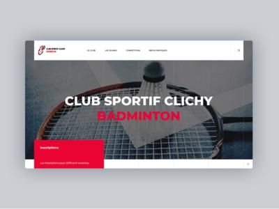 Badminton website