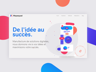 Mayasquad app concept motion design uidesign uiux agency landing page agency branding agency website agency logo agency website web ux ui design
