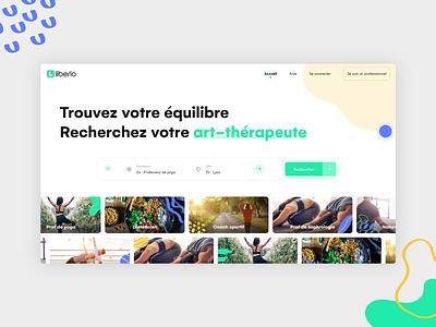 Wellness & alternative medicine platform wellbeing wellness meditation medicine medical uiux uidesign app concept website web ux design ui