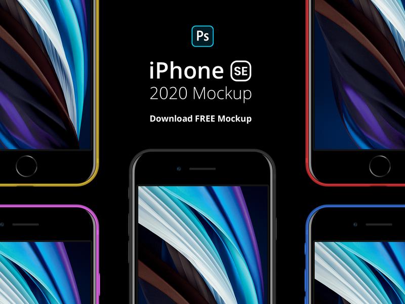 iPhone SE 2020 Free Mockup iphone se black mockup iphone 8 mockup iphone free mockup iphone mockup iphone se 2020 mockup iphone se mockup