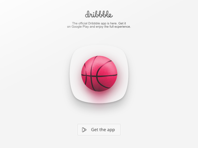 Dribbble Icon  basketball realistic android dribbble icon app icon app