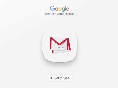 Gmail Icon google letter message real app icon icon gmail