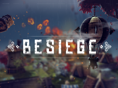 Besiege Cover videogame game cover besiege