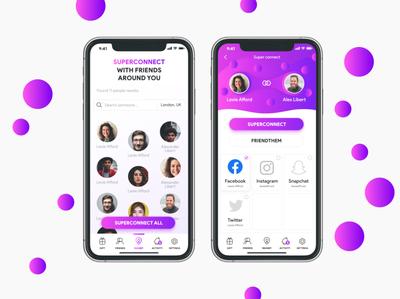 Friendthem App Design
