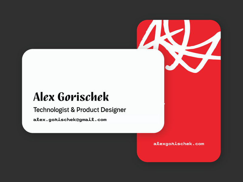 Business Cards business card typography design