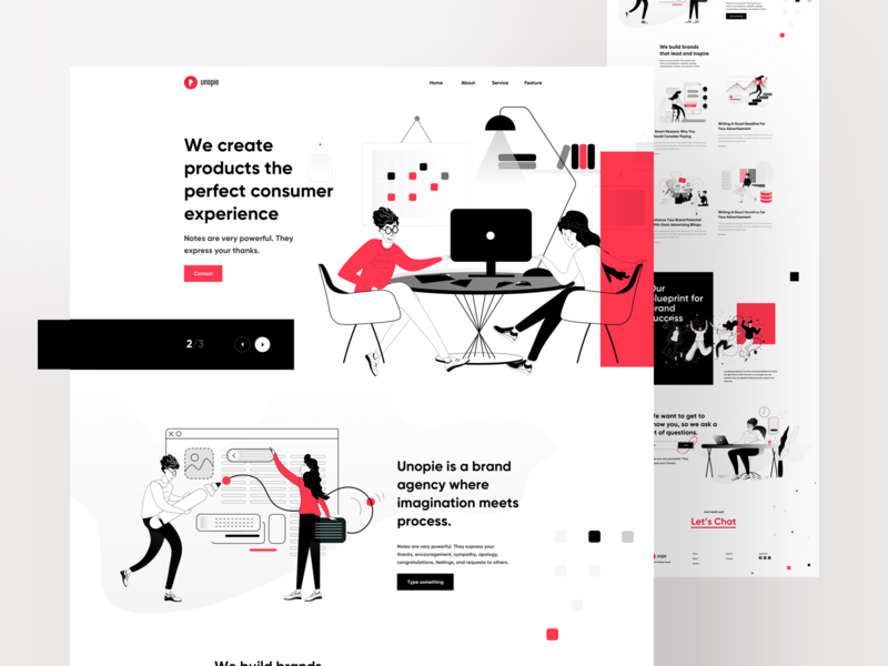 UnoPie Design vector branding creative illustration ux vector typography ux web website problem solving research ui logo minimal icon illustration logo flat gradient grid design growth header design designer research data visualisation agency website branding business agency landing page
