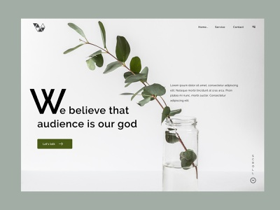 10G- Agency Template product design landing page layout theme 2021 simple template webite web agency branding logo illustration typography design colour minimal creative ux ui