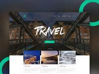 Travel  |  Web Concept